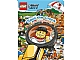 Book No: 9781409308843  Name: Lego City Spot the Crook - Activity Book