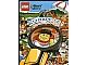 Book No: 9782351006498  Name: Lego City Attrape-le ! Cherche et trouve le voleur ! - Activity Book