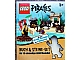 Book No: 9783831017546  Name: LEGO Buch & Steine-Set Pirates (Hardcover)
