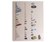 Book No: 9786bc2  Name: Set 9786 Activity Booklet 2 - Inventory and Lower Parts Tray Organizer Card