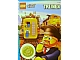 Book No: AB022011NL  Name: Lego City Treinen - Activity Book