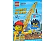 Book No: AB092010NL  Name: Lego City Verken De Stad - Activity Book with Stickers