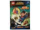 Book No: b16sh01pl  Name: DC Comics Super Heroes - Liga nie z tej ziemi! - Activity Book (Polish Edition)