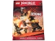 Book No: b18njo03pl  Name: Ninjago - Ścigani - Activity Book (Polish Edition)