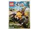 Book No: mag2013nl1  Name: Lego Club Magazine (Dutch) 2013 January - February