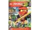 Book No: mag2015njo08de  Name: Lego Magazine Ninjago 2015 Issue 8 (German)