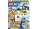 Book No: mag2017cty01pl  Name: Lego Magazine City (Polish) 2017 Issue 1
