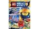 Book No: mag2017nex01pl  Name: Lego Magazine Nexo Knights (Polish) 2017 Issue 1