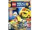 Book No: mag2017nex02pl  Name: Lego Magazine Nexo Knights (Polish) 2017 Issue 2