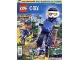 Book No: mag2018cty04pl  Name: Lego Magazine City (Polish) 2018 Issue 4