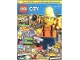 Book No: mag2018cty06de  Name: Lego Magazine City 2018 Issue 6 (German)