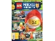 Book No: mag2018nex05pl  Name: Lego Magazine Nexo Knights 2018 Issue 5 (Polish)
