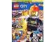 Book No: mag2019cty02de  Name: Lego Magazine City 2019 Issue 2 (German)
