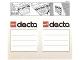 Gear No: 198353  Name: Sticker for Storage Box, Dacta