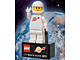 Gear No: 2855028  Name: Magnet Set, Minifig Classic Space White Figure - with '...in space since 1978' Base