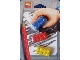 Gear No: 4202675  Name: Eraser, LEGO Brick Set of 3 (Red, Yellow & Blue)