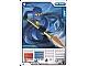 Gear No: 4612696  Name: Ninjago Masters of Spinjitzu Deck #1 Game Card 5 - Jay - International Version