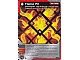Gear No: 4612925  Name: Ninjago Masters of Spinjitzu Deck #1 Game Card 23 - Flame Pit - International Version