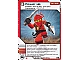 Gear No: 4612927  Name: Ninjago Masters of Spinjitzu Deck #1 Game Card 21 - Power Up - International Version