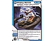 Gear No: 4612929  Name: Ninjago Masters of Spinjitzu Deck #1 Game Card 38 - Shaky Bones - International Version
