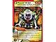 Gear No: 4612933  Name: Ninjago Masters of Spinjitzu Deck #1 Game Card 26 - Power Drain - International Version
