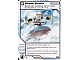 Gear No: 4612939  Name: Ninjago Masters of Spinjitzu Deck #1 Game Card 54 - Snow Surfin' - International Version