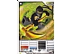 Gear No: 4613788  Name: Ninjago Masters of Spinjitzu Deck #1 Game Card 14 - Cole DX - International Version