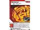 Gear No: 4617234  Name: Ninjago Masters of Spinjitzu Deck #1 Game Card 30 - Inferno - International Version