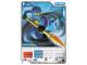 Gear No: 4621809  Name: Ninjago Masters of Spinjitzu Deck #1 Game Card 5 - Jay - North American Version