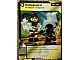 Gear No: 4621831  Name: Ninjago Masters of Spinjitzu Deck #1 Game Card 73 - Safeguard - North American Version