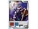 Gear No: 4621862  Name: Ninjago Masters of Spinjitzu Deck #1 Game Card 7 - Nuckal - North American Version