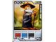 Gear No: 4642687  Name: Ninjago Masters of Spinjitzu Deck #1 Game Card *7 - Sensei Wu (Black Outfit) - North American Version