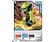 Gear No: 4643447  Name: Ninjago Masters of Spinjitzu Deck #2 Game Card 11 - Lasha - International Version