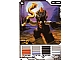 Gear No: 4643527  Name: Ninjago Masters of Spinjitzu Deck #2 Game Card 18 - Bytar - International Version