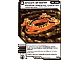 Gear No: 4643530  Name: Ninjago Masters of Spinjitzu Deck #2 Game Card 70 - Crown of Earth - International Version