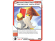Gear No: 4643659  Name: Ninjago Masters of Spinjitzu Deck #2 Game Card 46 - Sensei's Red Card - North American Version