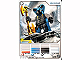 Gear No: 4643668  Name: Ninjago Masters of Spinjitzu Deck #2 Game Card 23 - Mezmo - North American Version