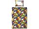 Gear No: 5055285345303  Name: Bedding, Duvet Cover and Pillowcase (135 cm x 200 cm) - Classic Bricks