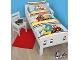 Gear No: 5055285391225  Name: Bedding, Duvet Cover and Pillowcase (120 cm x 150 cm) - Duplo I Love Building