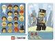 Gear No: 6187164  Name: Community Set 45022 Game Card 02 - Policeman