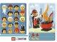 Gear No: 6187165  Name: Community Set 45022 Game Card 03 - Fireman