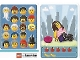 Gear No: 6187171  Name: Community Set 45022 Game Card 07 - Rollerskater