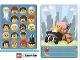 Gear No: 6187197  Name: Community Set 45022 Game Card 18 - Toddler