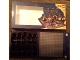 Gear No: 852750board  Name: Pirates Tic Tac Toe Game Board 16 x 16 Dark Bluish Gray Baseplate, Glued into Game Box