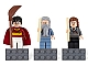 Gear No: 852982  Name: Magnet Set, Minifigures Harry Potter (3) - Harry Potter, Professor Dumbledore, Hermione