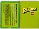 Gear No: 93959-D  Name: Fabuland Memory Card Game - German Version
