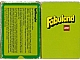 Gear No: 93959-DK  Name: Fabuland Memory Card Game - Danish Version