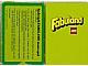Gear No: 93959-NL  Name: Fabuland Memory Card Game - Dutch Version