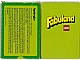 Gear No: 93959-S  Name: Fabuland Memory Card Game - Swedish Version