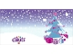 Gear No: Clikits261pb02  Name: Clikits Christmas Card with 3 Holes, Christmas Tree Pattern